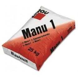 Omítka jádrová jemná Manu 1 25kg - Baumit