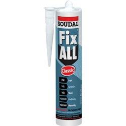 Tmel lepicí pružný Fix All bílý 290ml - Soudal