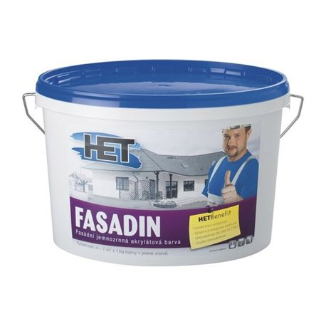 Barva fasádní Fasadin 15kg - HET