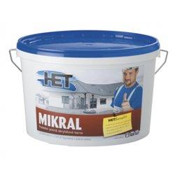 Barva fasádní Mikral 100 15kg - HET