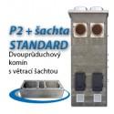 P2 s ventilační šachtou